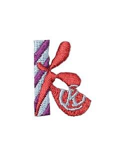 アップリケ アルファベット k