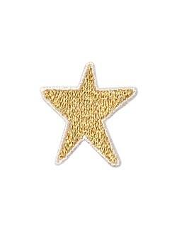 アップリケ 星